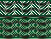 Seamless Traditional Knitting Motif Royalty Free Stock Images