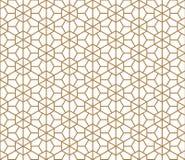 Seamless traditional Kumiko pattern Stock Photos