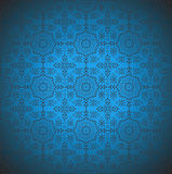 Seamless traditional look vector wallpaper Stock Images