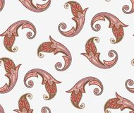 Seamless traditional pattern stock illustration