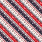 Seamless traditional romanian pattern Stock Image