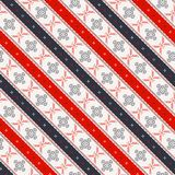 Seamless traditional romanian pattern Royalty Free Stock Images