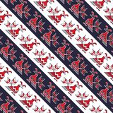 Seamless traditional romanian pattern Stock Images