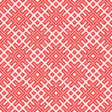 Seamless Traditional Russian and ornament made by circles in red. Traditional ethnic Russian and slavic ornament.DISABLING LAYER, you can obtain seamless pattern Vector Illustration