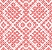 Seamless traditional Russian and slavic ornament Stock Image