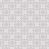 Seamless traditional silver ornamental wallpaper Royalty Free Stock Image
