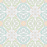 Seamless traditional tile and wallpaper Royalty Free Stock Photography
