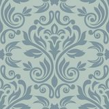 Seamless traditional vector wallpaper. Damask seamless pattern for design. Vector Illustration vector illustration