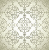 Seamless traditional vector wallpaper Stock Photos
