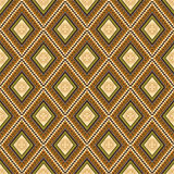 Seamless  traditional wallpaper. Rhombus Stock Image