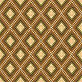 Seamless traditional wallpaper. Rhombus vector illustration