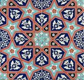 Seamless traditionella belägger med tegel Arkivbild