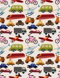 seamless transport för modell Arkivfoto