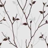 Seamless tree Royalty Free Stock Image