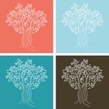 seamless tree för modell Royaltyfri Fotografi