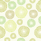 Seamless Tree rings pattern Royalty Free Stock Image