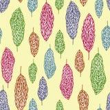 Seamless trees pattern. A seamless trees pattern design Royalty Free Stock Photos