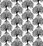Tree pattern Stock Image