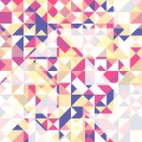 seamless trianglar för modell Mönstra för din textil- och tryckdesign vektor illustrationer