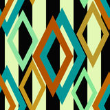 Seamless triangle bright pattern background geometric abstract Royalty Free Stock Image