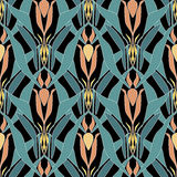 Seamless triangle bright pattern background geometric abstract Royalty Free Stock Photography