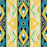 Seamless triangle bright pattern background geometric abstract Royalty Free Stock Images