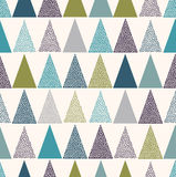 Seamless triangle dots wallpaper pattern Royalty Free Stock Photography
