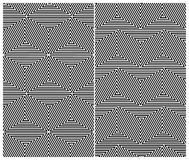 Seamless Triangle Elements Pattern Royalty Free Stock Images