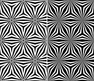 Seamless Triangle Elements Pattern Royalty Free Stock Photos