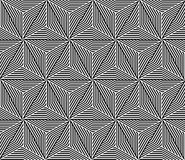 Seamless Triangle Elements Pattern Royalty Free Stock Photo