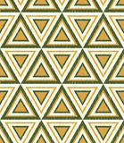 Seamless triangle mesh pattern Stock Photo