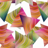 Seamless triangle pattern background geometric abstract texture Royalty Free Stock Image