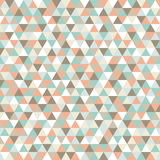 Seamless triangle pattern, background, texture. Stock Image