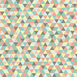 Seamless triangle pattern, background, texture. Royalty Free Stock Image