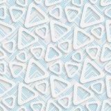 Seamless Triangle Pattern. Futuristic Tile Pattern Stock Image