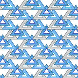 Seamless triangle pattern. Geometric Abstract background. Vector Royalty Free Stock Photo