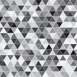 Seamless triangle pattern. Geometric texture. Vector background. stock illustration