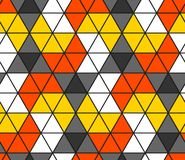 Seamless triangle pattern. Geometric wallpaper of the surface. Unique background royalty free illustration
