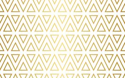 Free Seamless Triangle Pattern In Gold And White Royalty Free Stock Photos - 140175628