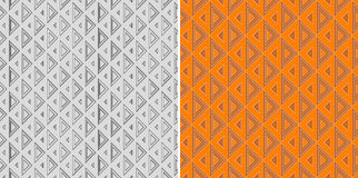 Seamless triangle pattern Stock Images