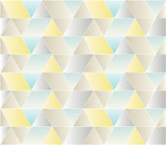Seamless Triangle Pattern. Triangle Shiny and Soft Pattern Royalty Free Stock Image