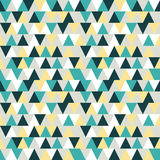Seamless triangle pattern. triangle background. Geometric abstra Stock Photos
