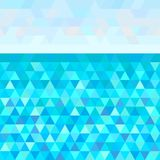 Art creative. Illustration. Seamless triangle pattern. Universal sea landscape. Striped multicolored background. Universal geometric texture. Dinamic colored Stock Photos