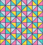 Seamless triangle pattern. Vector abstract texture Stock Photo