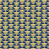 Seamless triangle pattern. Vector background. Stock Image