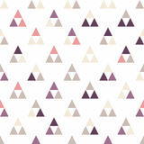 Seamless triangle pattern. Vector background. Geometric abstract texture Royalty Free Stock Photos