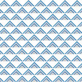 Seamless triangle pop art pattern vector Royalty Free Stock Image