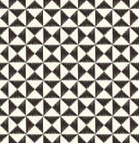 Seamless  triangle tiles geometric pattern Royalty Free Stock Photo