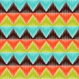 Seamless triangle tiles pattern Royalty Free Stock Photos