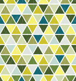 Seamless triangle tiles pattern Royalty Free Stock Images